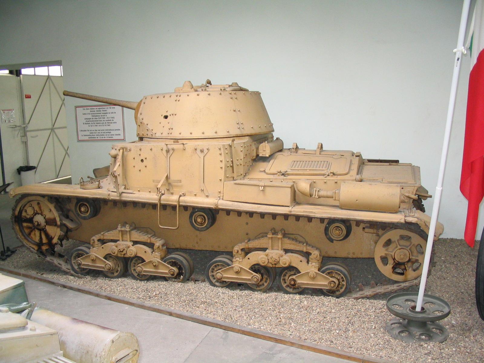 Ansaldo-Fiat M15/42 Medium Tank | Ww2 Italy planes, tanks, and ...